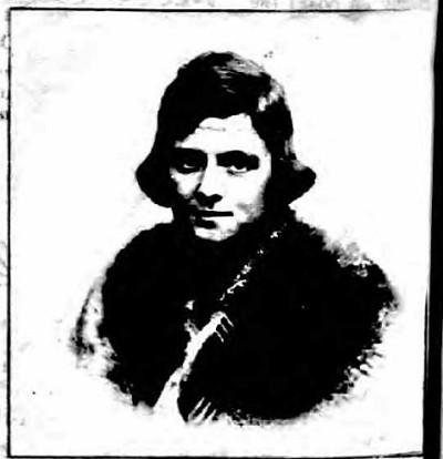 Isabel Johnston; Passport Photo, 1922