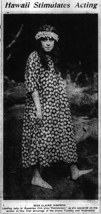 Honolulu Star Bulletin, Honolulu, Hawaii, November 2, 1916