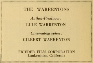 Motion Picture Studio Directory and Trade Annual, April 12, 1917
